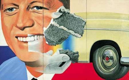 """President Elect"" by James Rosenquist, 1961"